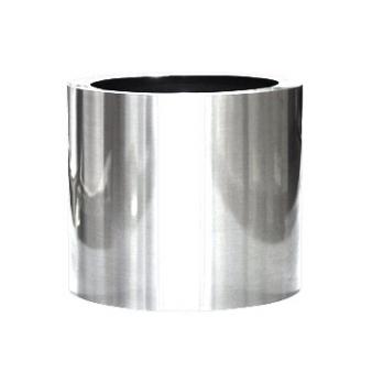 Кашпо President tuba, алюминий полированный