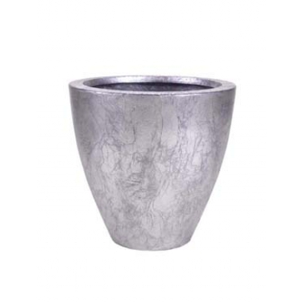 Кашпо Сavaleiro Planter, старое серебро