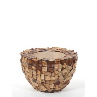 Кашпо Tunda Partner чаша, кокосовая скорлупа