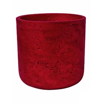 Кашпо Eco-line Charlie, красный