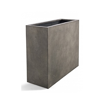 Кашпо D-lite high box low natural-concrete