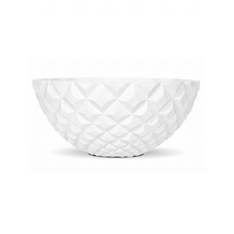 Кашпо Capi lux heraldry bowl, white