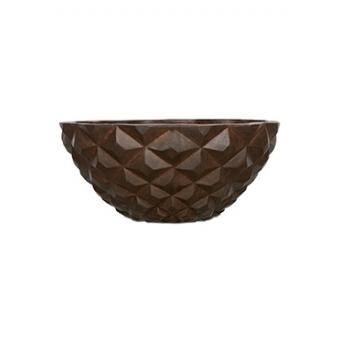 Кашпо Capi lux heraldry bowl, rust