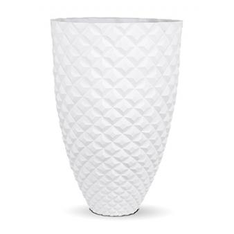 Кашпо Capi lux heraldry vase elegant, white
