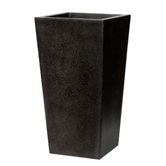 Кашпо Capi lux planter tapering, black