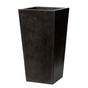 Кашпо Capi lux planter tapering, black