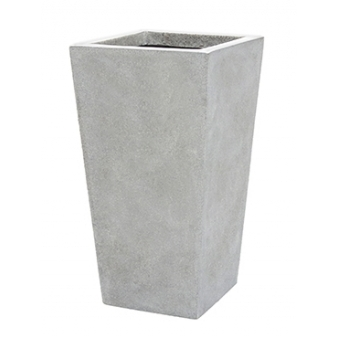 Кашпо Capi lux planter tapering, light grey