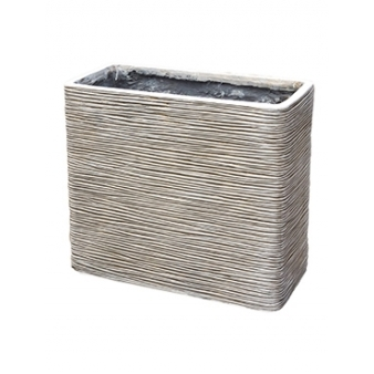 Кашпо Capi nature planter rectangle ivory